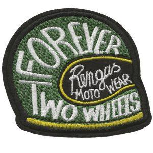 Rengas Moto Wear Patch Helmet green