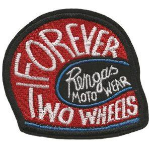 Rengas Moto Wear Patch Helmet red