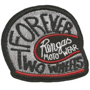 Rengas Moto Wear Patch Helmet white