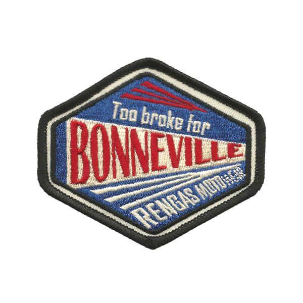Bonneville Aufnäher